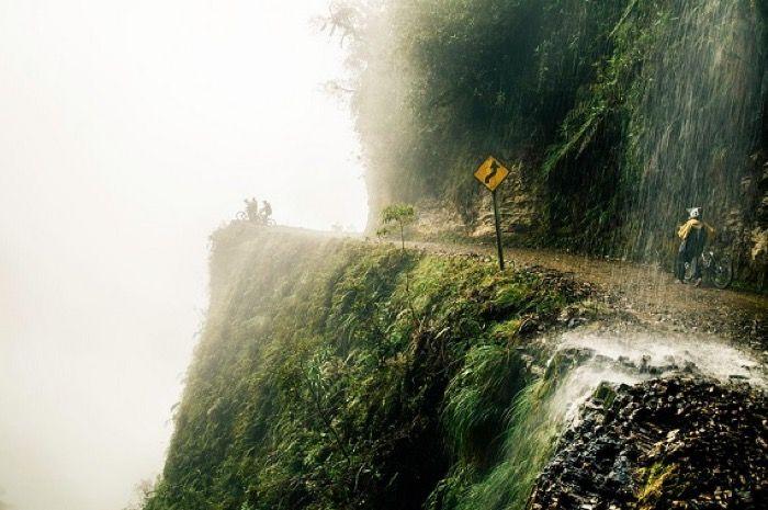 Bolivya. Death Road.