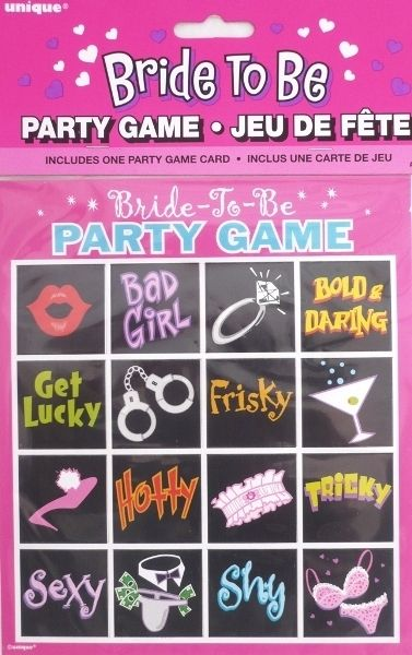 Hens Night Bachelorette Bride To Be Party Game 16 Dares