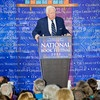 Okay, another favorite author, David McCullough, but history not fantasy.  We were in the audience for this event, it is the second time I have  heard him speak.  Any author who can make a flood event interesting (Johnstown Flood) is worth the read!