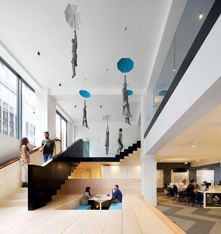 The cool hunter fold7 ad agency london office interiorsoffice interior designoffice
