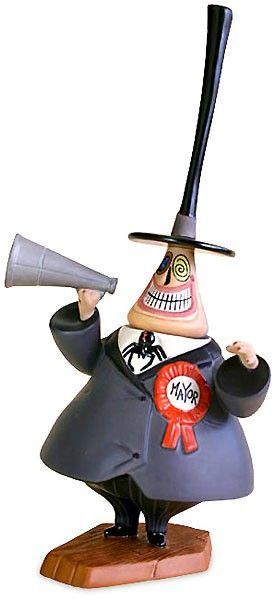 Nightmare Before Christmas - Mayor - Two-Faced Politician - World-Wide-Art.com - #nightmarebeforechristmas #halloween #disney #timburton #wdcc #waltdisneyclassicscollection
