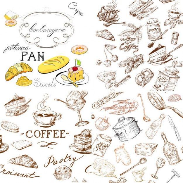Pin di julary su free vector disegno cibo idee per for Disegnare progetti