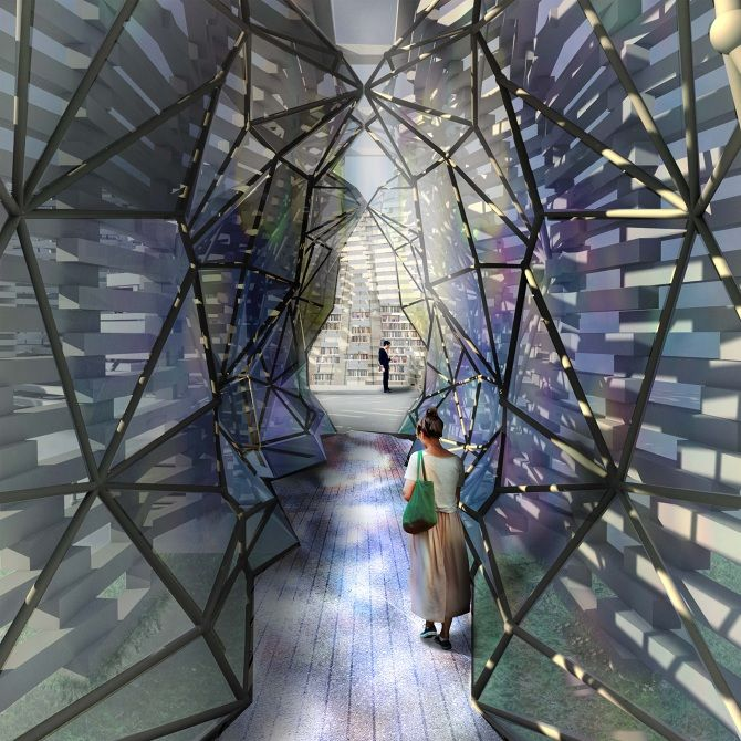 Flagstaff Library By Lauren Crockett BArch At RMIT Creativefest