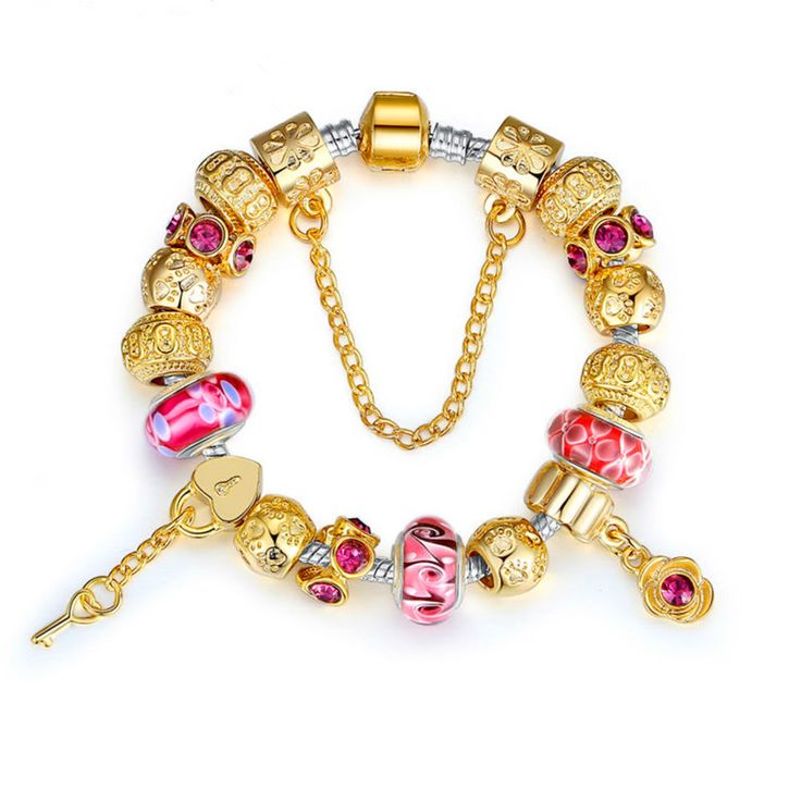 High Quality Gold Charm Bracelet for Women Exquisite Murano Glass Beads DIY Birthday Gift PA1804 repin & like. Check out Noelito Flow music. Noel. Thanks https://www.twitter.com/noelitoflow  https://www.youtube.com/user/Noelitoflow