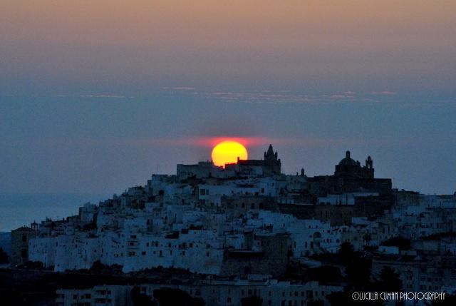 Sunrise in Ostuni. Italy https://www.facebook.com/LucillaCumanPhotography