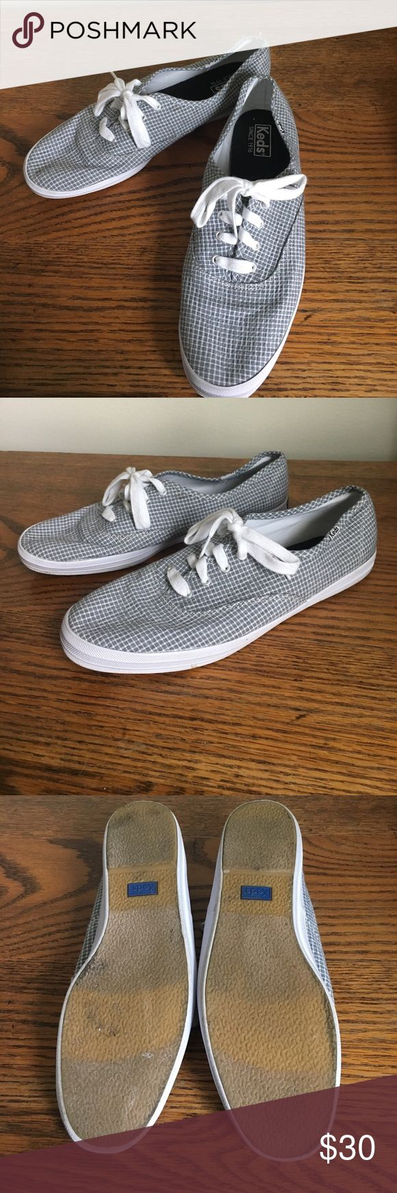 Selling this Grey Checkered Keds on Poshmark! My username is: jijill. #shopmycloset #poshmark #fashion #shopping #style #forsale #Keds #Shoes