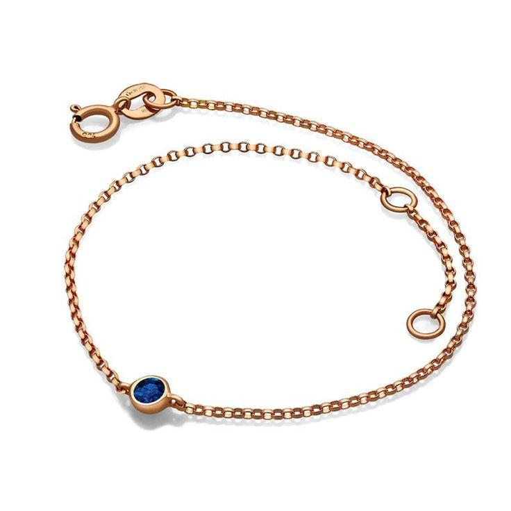 September Birth Stone Sapphire Bracelet