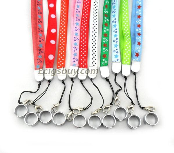 This product is Colourful eGo Lanyard for eGo Type Batteries eGo Electronic Cigarette.Many styles and colours are available. Carry your eGo with you without the hassle of putting it in your pocket or handbag. Always at your fingertips and ready to go.