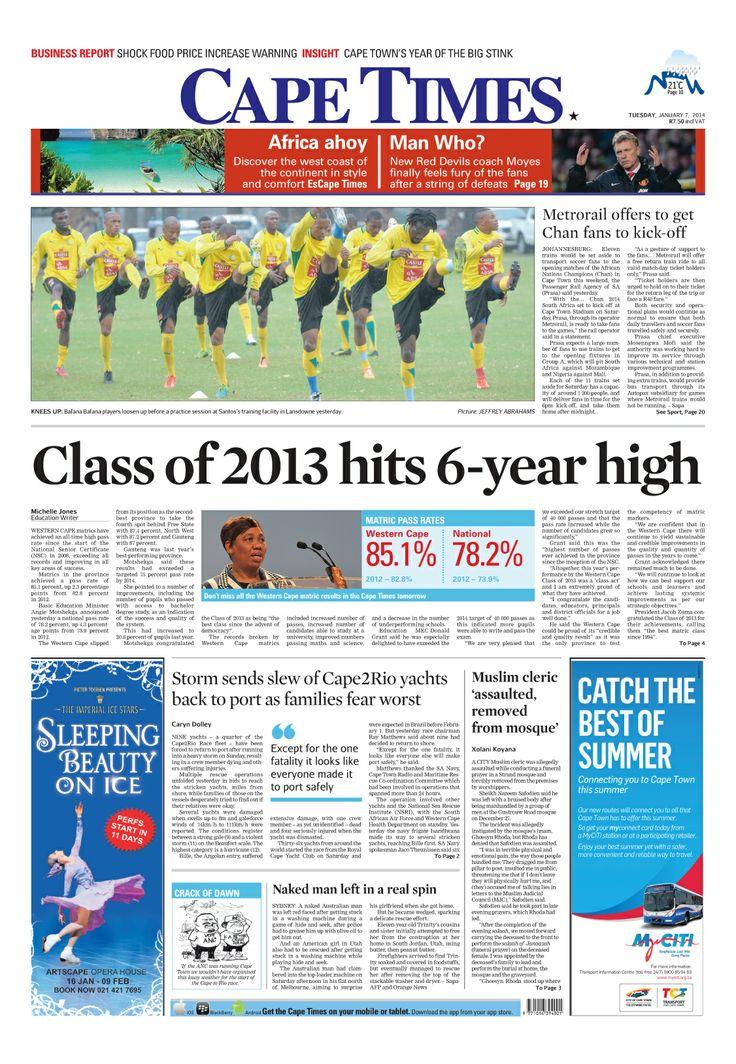 News making headlines: Class of 2013 hits six year high