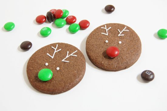 christmas cookie - Rudolph