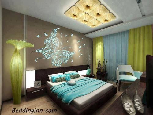 bedding-inn:  How Lovely is this bedroom! Love it Buy Wall Art:http://goo.gl/UsKZNgMore Bedding Sets:http://goo.gl/tnIrZF