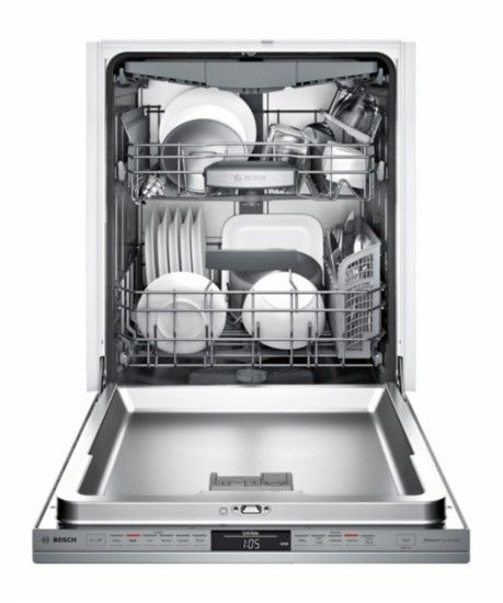 "Bosch - 800 Series 24"" Tall Tub Built-In Dishwasher with Stainless-Steel Tub - Stainless Steel - AlternateView13 Zoom"