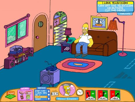 the simpsons living room 37 best images about simpsons living room on 13741