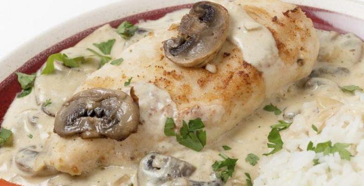  Poitrines de poulet aux Boursin et aux herbes - Recettes - Ma Fourchette