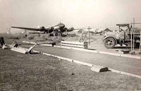 Uma foto antiga do Aeroporto de Congonhas em São Paulo/SP em 1944.