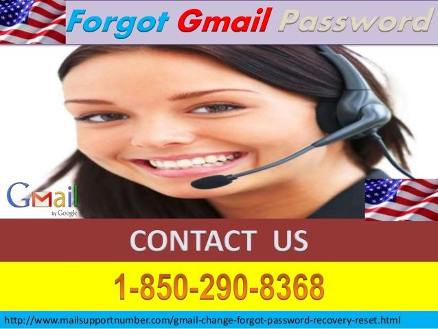 Use Google For Finding Forgot Gmail Password 1-850-290 ...
