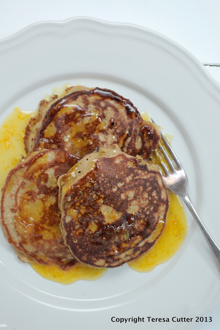 Quinoa Pancakes. Available at the Fusion Cafe!
