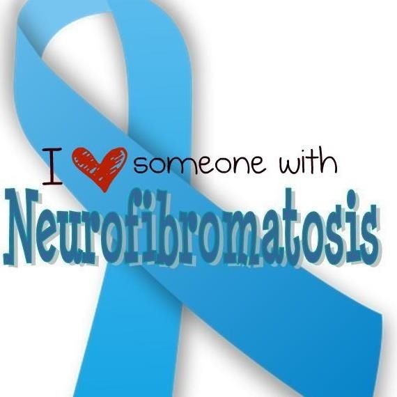 Neurofibromatosis (NF) is a genetic disorder that can cause skin changes as well as tumors to grow along the nerves throughout the body. Other issues like learning disabilities, scoliosis, attention deficit disorder, cancer, and high blood pressure are a few of the problems that could occur in NF.  There is currently no cure.