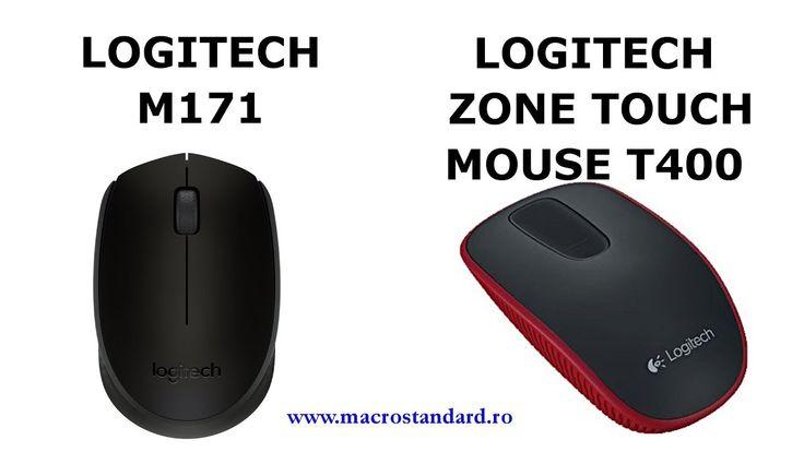 Am inlocuit mouse-ul LOGITECH ZONE TOUCH cu unul simplu si ieftin: Mouse...