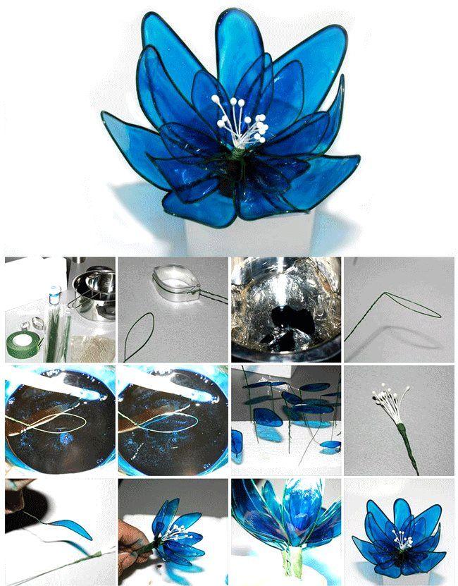 Tutorial para elaborar una flor de gelatina.