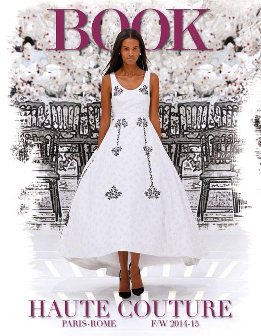 Magazine cover! Christian Dior dress. #dress #christiandior @dior #hautecouture #paris #rome #fall #winter #2014 #2015 #fashion #style #women #womenfashion #bookmoda
