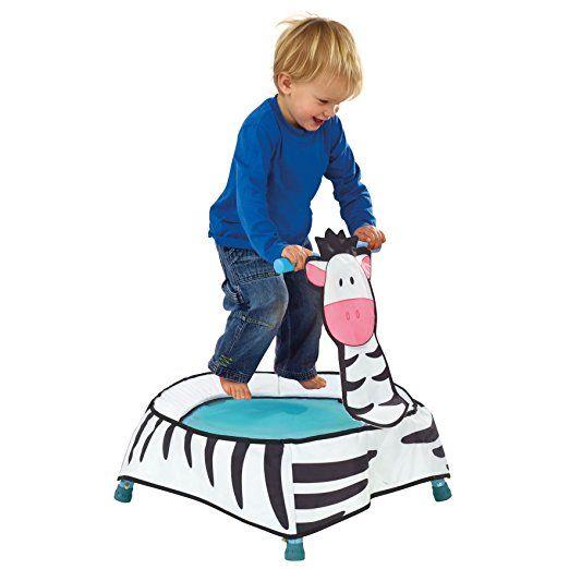 World's Apart A-Zebra Toddler Trampoline with Sounds: Amazon.de: Spielzeug