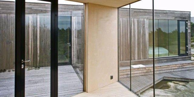 RICHTLINIEN: Die Kabine ist so geformt, dass man durch den Außenraum schauen und …