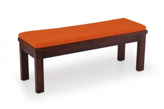 Make optimum use of small places with this specially designed comfortable Wooden Dining Bench from Ekbote. Comes with one year warranty and effective after sales service.