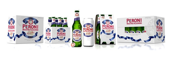 New design for Peroni