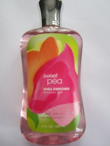 Bath And Body Works Shea Enriched Shower Gel Sweet Pea 667530600058 Scent Sweet Pea 10oz