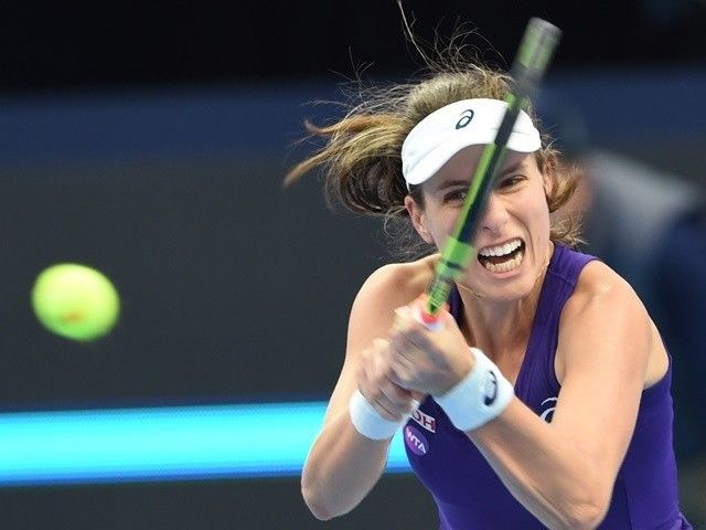 Result: Johanna Konta progresses at Australian Open, Heather Watson, Kyle Edmund out #AustralianOpen #Tennis