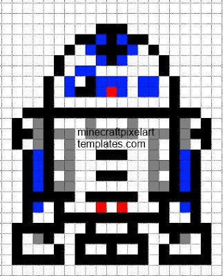 star wars template. R2, death mal, etc.