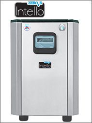 ZeroB's Intello ESS - Under the sink water purifie. Technology Sanitizes the water storage tank 24 x 7 to prevent germ build-up. The only RO purifier in India to have this technology