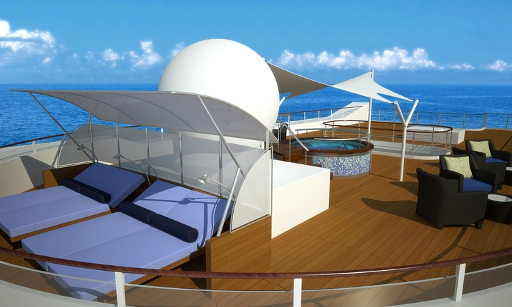 Tere Moana - Sun Deck. For more information visit www.pgcruises.com or call 020 7399 7691