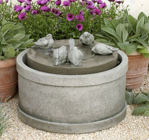 Campania International Passaros Fountain – Birdsall & Co.