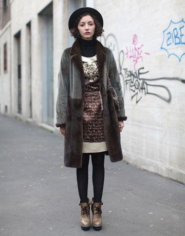 Street Style Milan Fashion Week Fall 2011 Inspiration