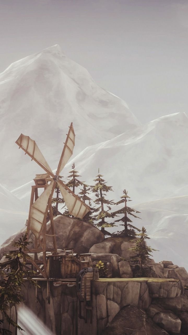Brothers A Tale Of Two Sons Windmills 720x1280 Wallpaper