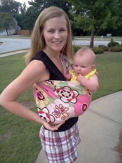 Our Seven Dwarfs: Baby Sling Tutorial