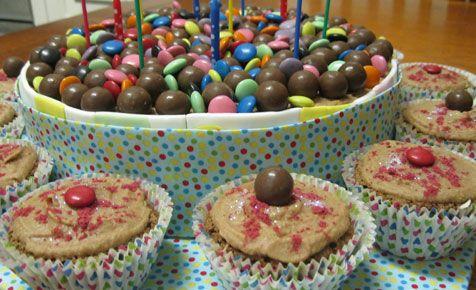 Spotty dotty cake - 1st birthday cake ideas