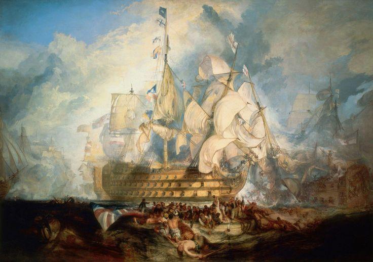 Уильям Тернер «Трафальгарская битва»