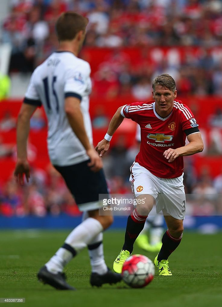 Bastian Schweinsteiger of Manchester United in action