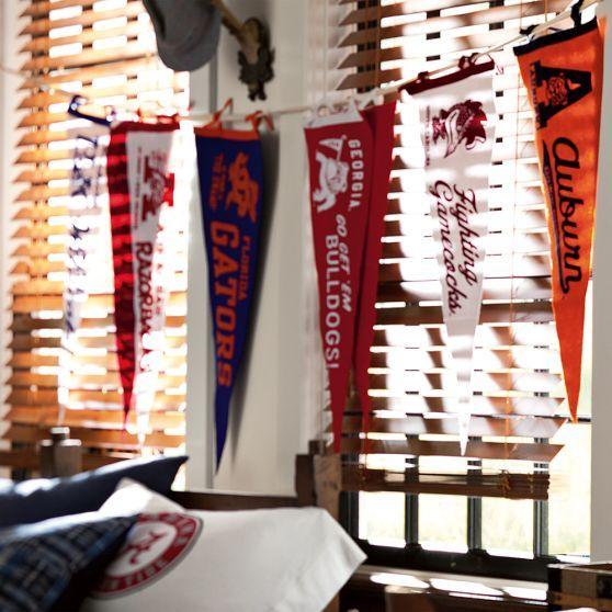 Collegiate Felt Pennants #CollegeVault