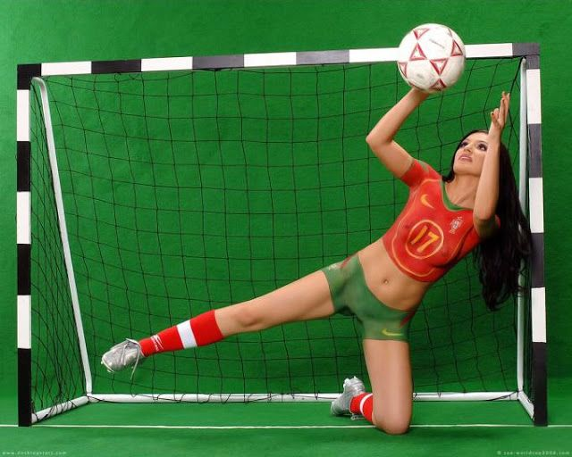 Body Painting Galleries: world cup body painting