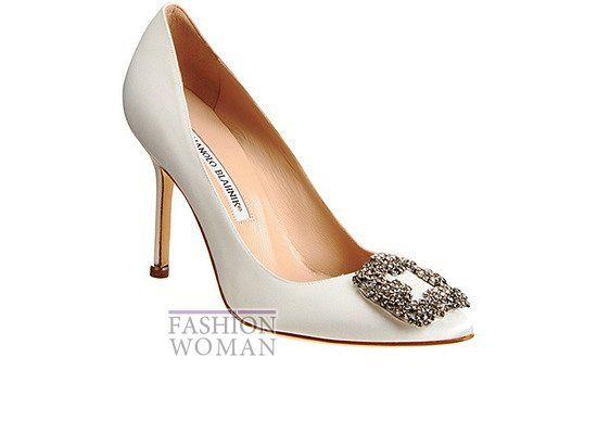 Manolo Blahnik Wedding Shoes // Свадебная обувь Manolo Blahnik