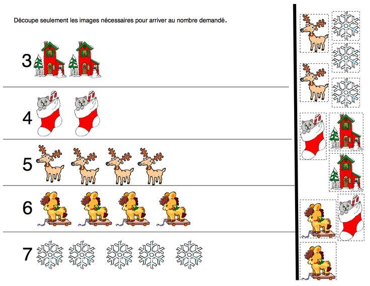 30 fiches de Noël gratuites à imprimer pour vos jeunes élèves du préscolaire ou du 1er cycle du primaire.