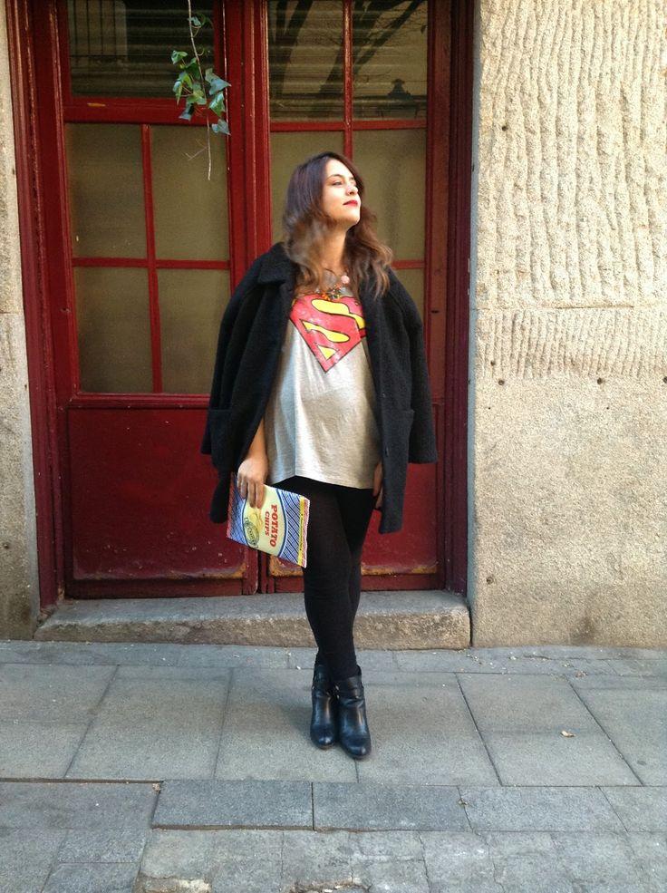 Pepa! ¿qué me pongo?: MAJO, CAMISETA DE SUPERMAN.