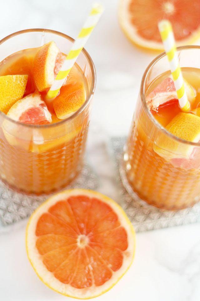 Easy & Yummy: Eistee Cocktail mit Grapefruit und Ingwer | provinzkindchen | by hannah | Bloglovin'