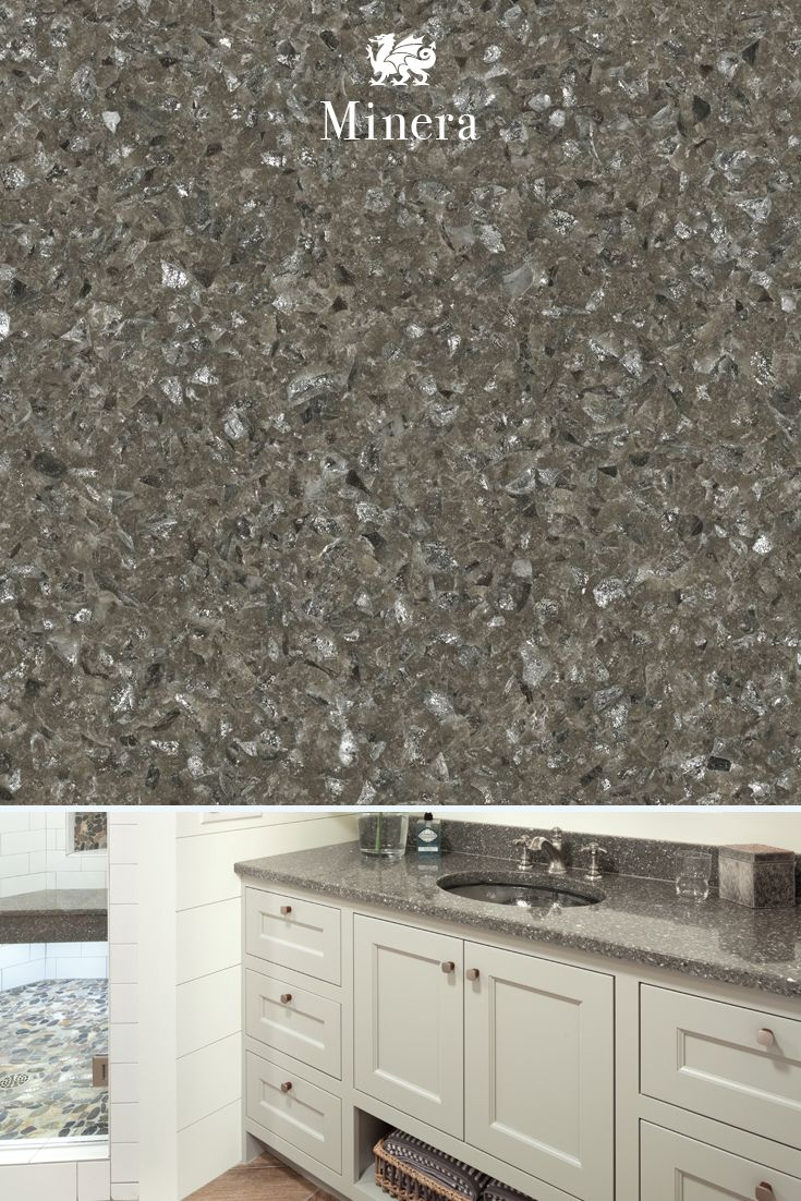 Cambria clyde kitchen and bathroom countertop color - Luminous Shades Of Gray Reach New Heights In Our Sophisticated Minera Design Creating A Cambria Countertopscambria Quartzbathroom