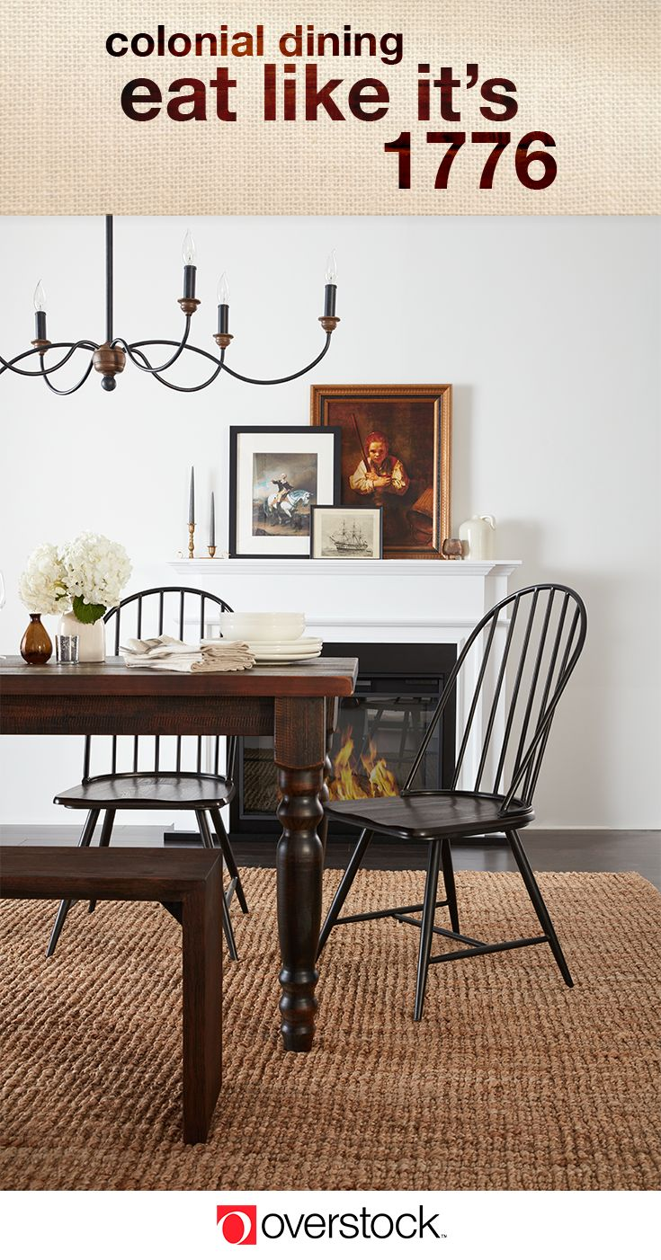 Find everything you need to give your dining room a Colonial decor refresh  at Overstock com  Shop thousands of products and beautiful new furniture at  the. 587 best Dining Room images on Pinterest   Dining rooms  Dining