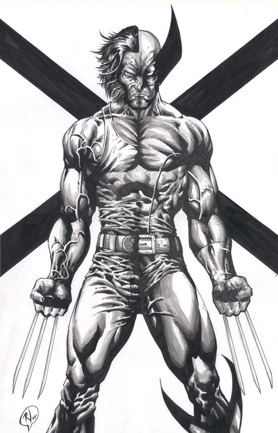 Wolverine comic drawings   Wolverine Comic Book Art